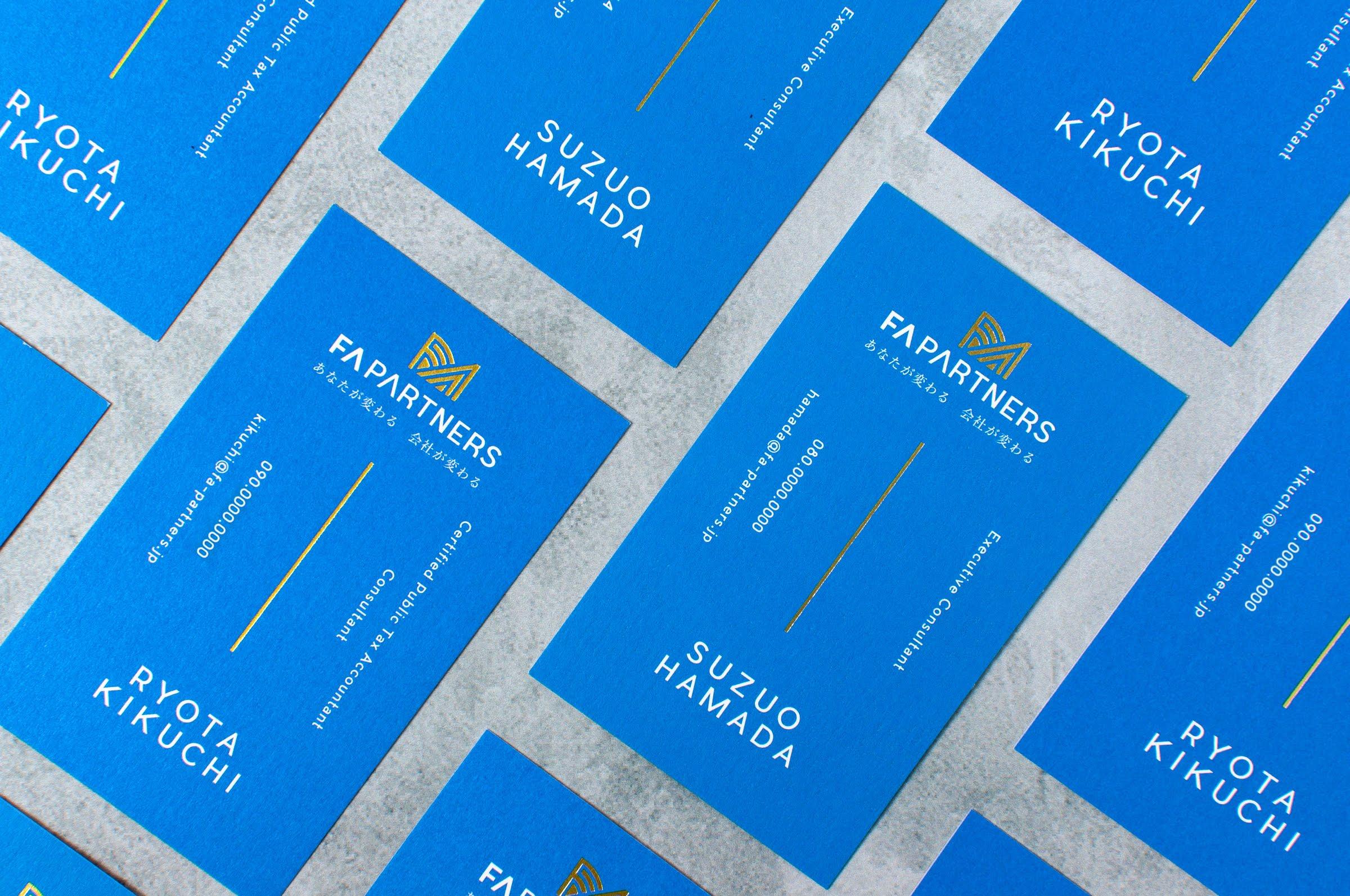 FA PARTNERS|NAME CARD