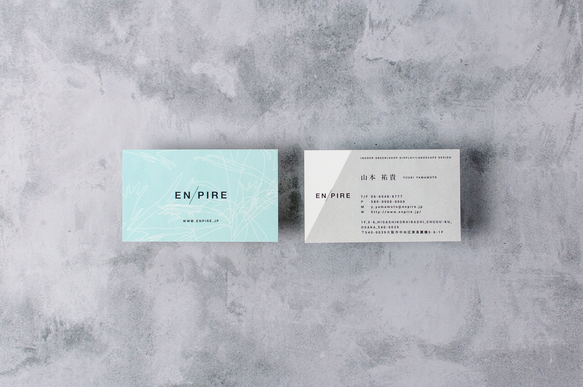 EN/PIRE|NAME CARD