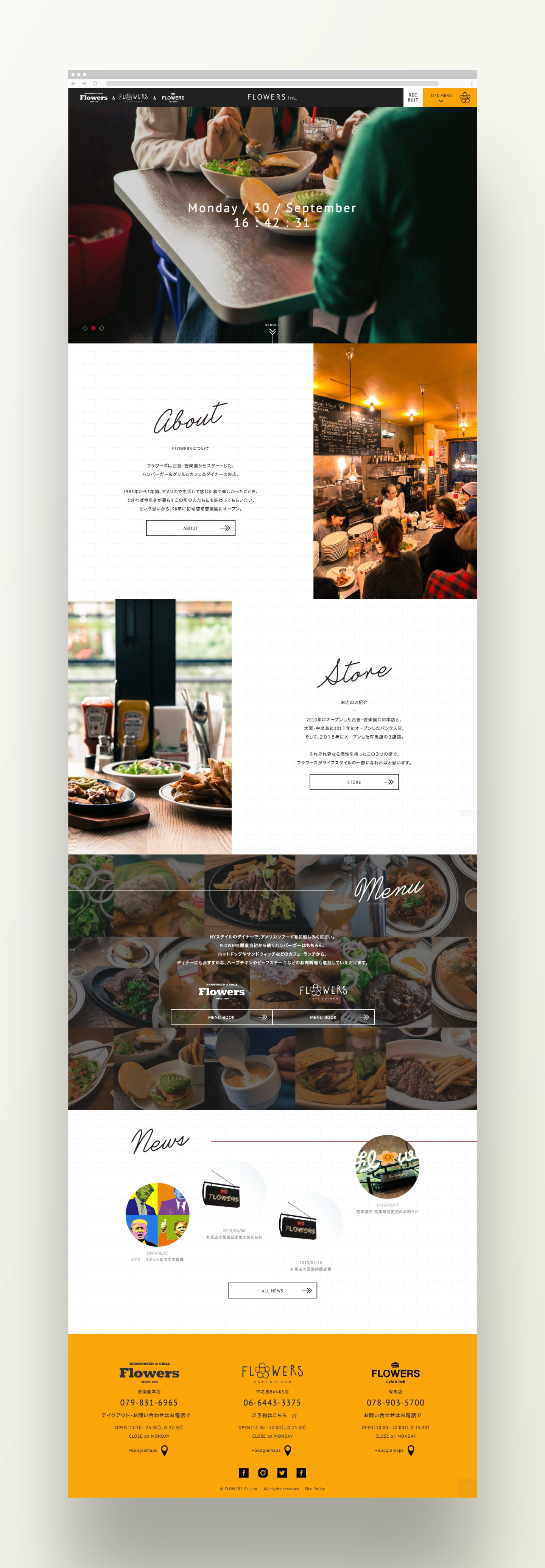 FLOWERS Inc.|Web Design