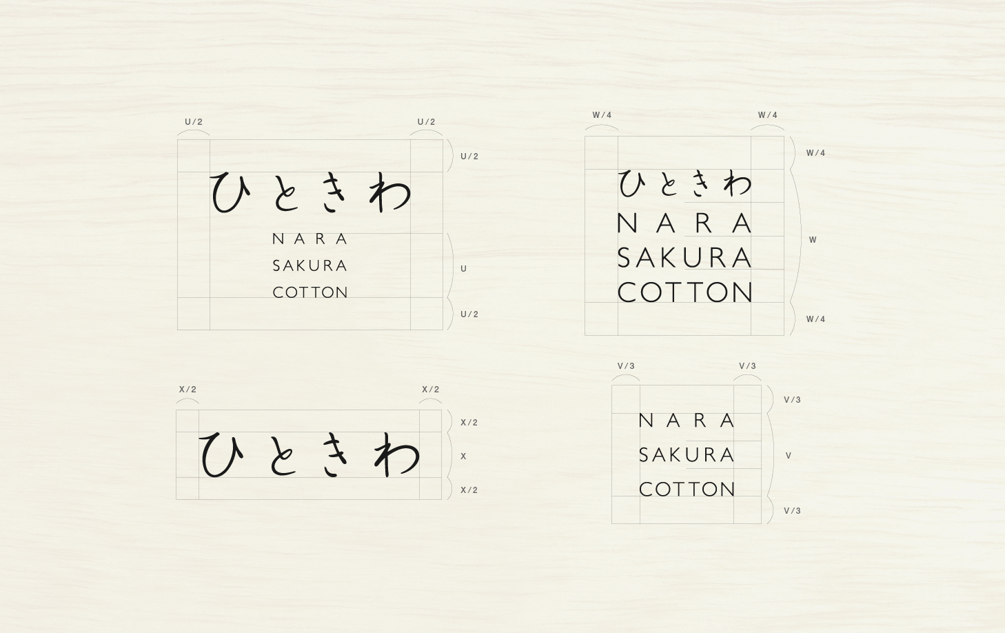 ひときわ NARA SAKURA COTTON LOGO|MONARCH