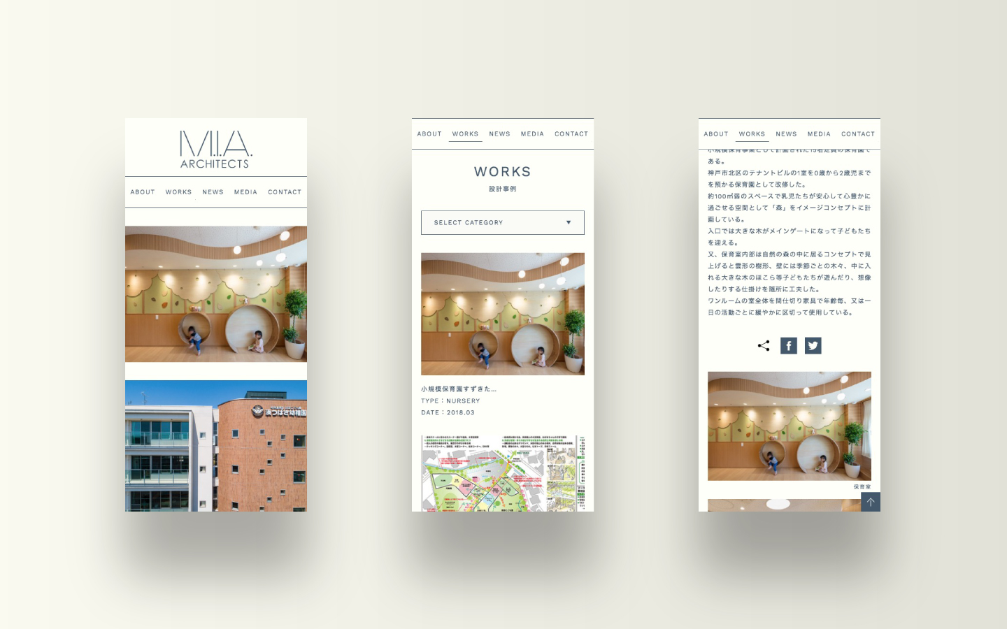 M.I.A. ARCHITECTS|Web Design|Smart Phone