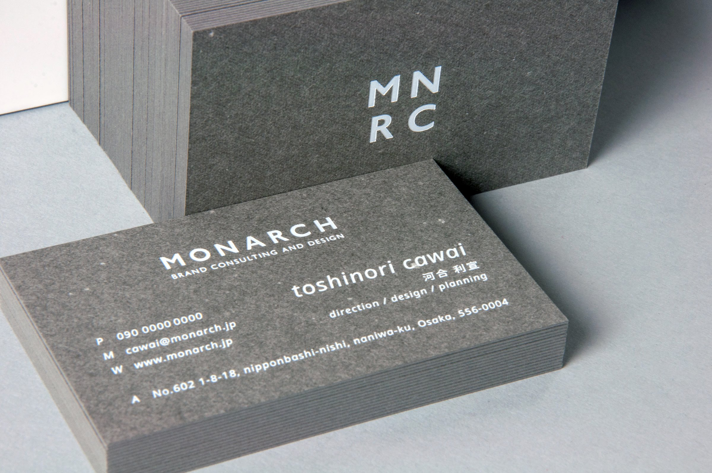 MONARCH|NAME CARD