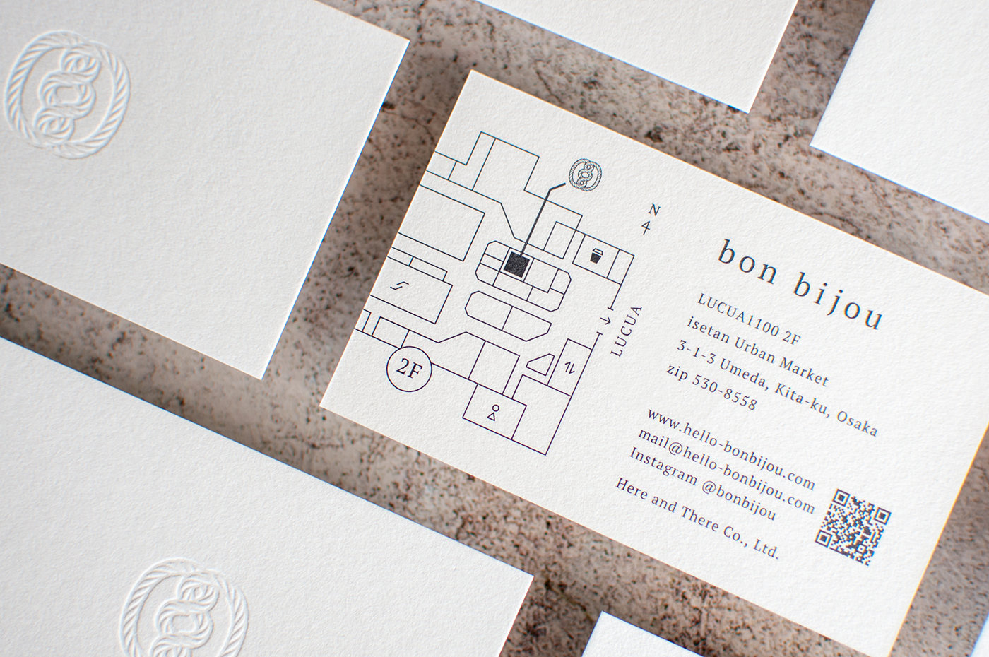 bon bijiou Shop card|Designed by MONARCH
