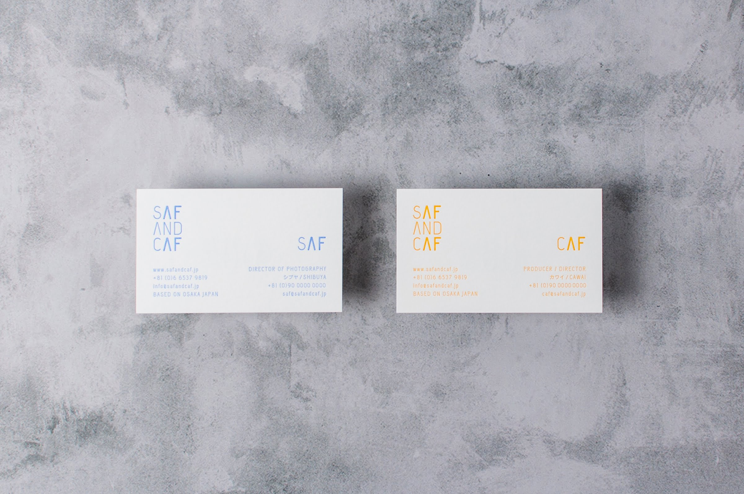 SAF AND CAF|NAME CARD