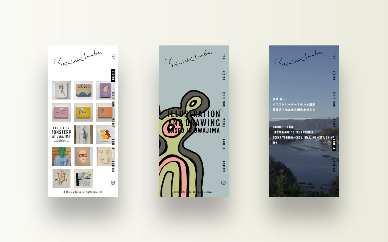 Shinichi Inaba|Web design by MONARCH