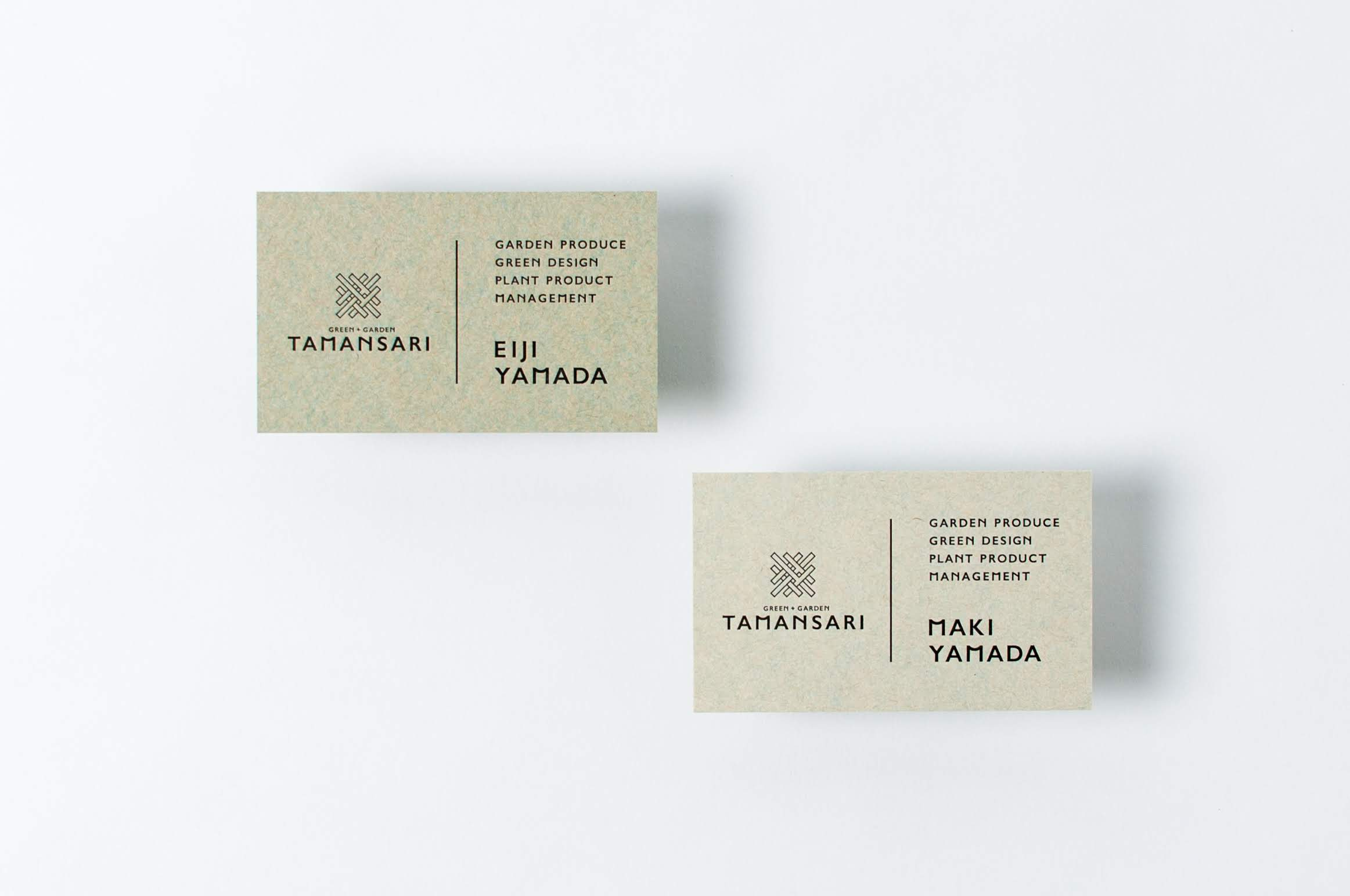 GREEN+GARDEN TAMANSARI|NAME CARD