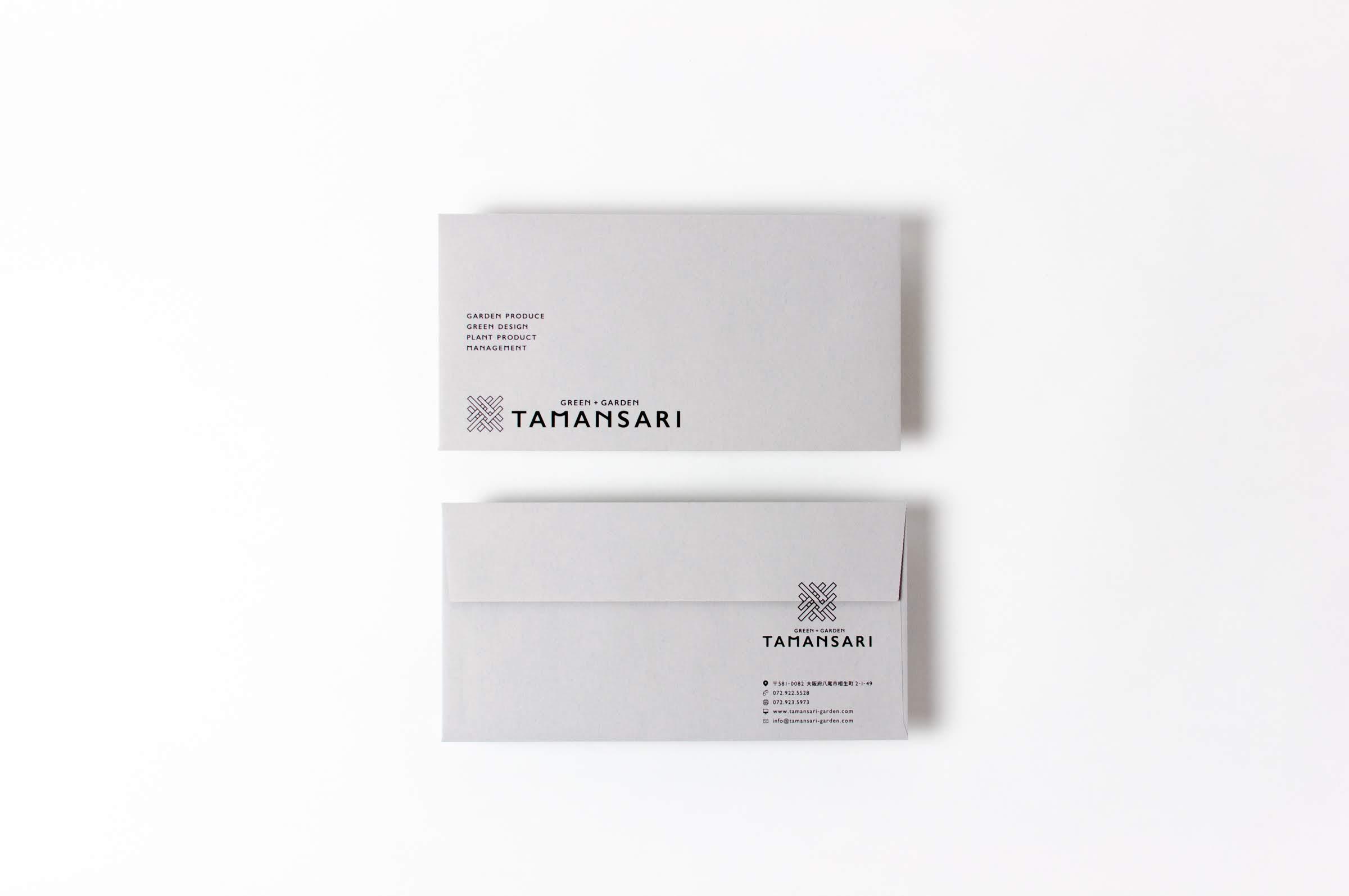 GREEN+GARDEN TAMANSARI|ENVELOPE